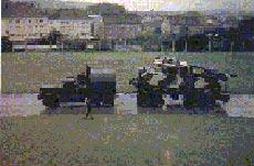 Newly painted Centurion tank - Hemer 1964