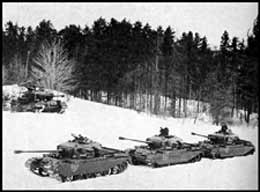 Troop of Centurions in the snow 1960