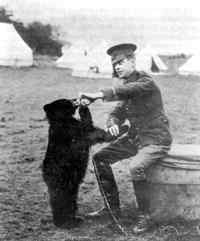 Harry Colbourn and Winnie - 1914