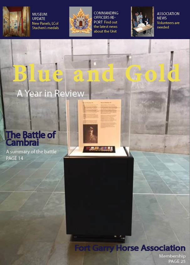 Front cover of the Blue and Gold